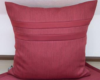 Pillow Case Rust 50 x 50 cm