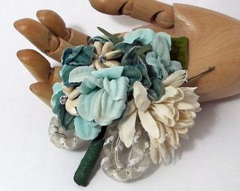 Ocean Breeze - Nosegay/Small Bouquet/Tussie Mussie/Corsage