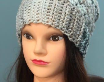 Adult or teen beanie... acrylic beanie.. ready to ship...