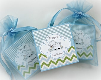 Baby Shower Favors, Baby Boy, Soap Favors, set of 10