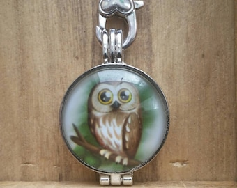 Barn Owl Hanging Fragrance Holder