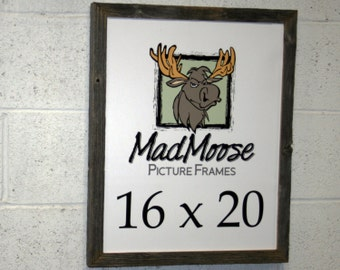 "16x20 BarnWood [Chunky x 1.25""] Picture Frame"