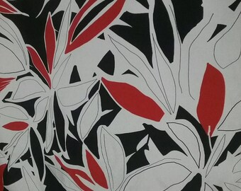 Floral Silk Crepe de Chine - 54'' Wide per Yard