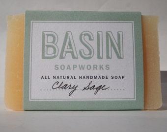 Clary Sage Handmade Soap