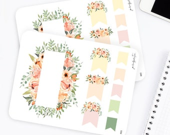 F61   Flag Stickers   Functional Stickers   Watercolor Stickers   Page Flags Fall Stickers     Flower Stickers   Bullet Journal Stickers