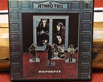 Jethro Tull Benefit 3-3/4 ips Reel to Reel Tape Play Tested VG++