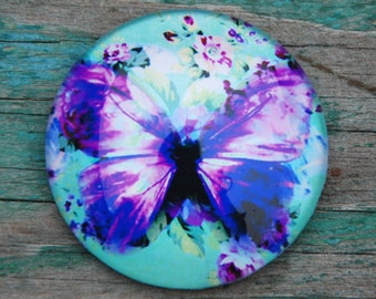 The Butterfly mandala magnet