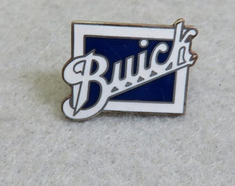 Vintage Buick Automobile Enameled Tie Tack or Tack Pin