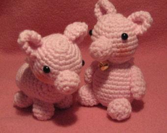 Witty Bitty Piggy Twins