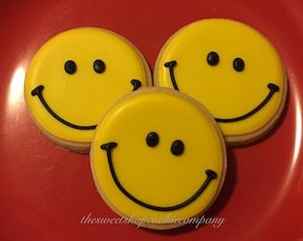 Be Happy Cookies 2 dozen