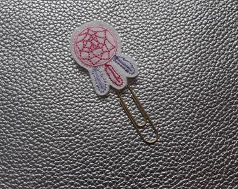 Pretty Dream Catcher Planner Bookmark. Planner Feltie Clip.  Paperclip.  Felt Clip. Planner Gifts.  Stationery.  UK SELLER!