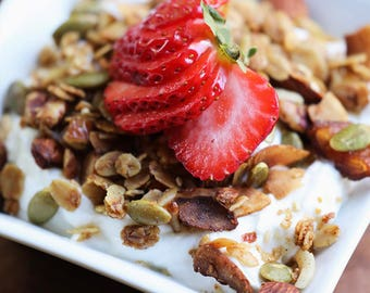 CLASSIC Salty-Sweet Olive Oil Granola (6 12-oz pouch)