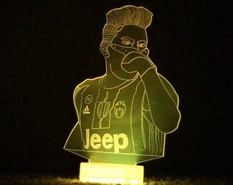 Soccer players LED 3D Home Lighting