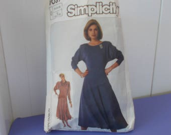 dress pattern sizes 12 - 14 US