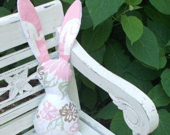 Bella Pink Ele Bits The Bunny Plush Rattle