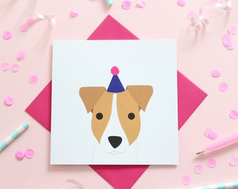 Birthday Jack Russell Card