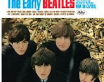 The Beatles NM vinyl  - The Early Beatles - Vintage cover in VG++ Condition