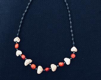 Shipibo natural tribe handmade native necklace
