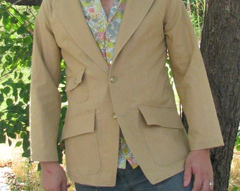 Unstructured Linen Blazer--Made to Measure---Editions36