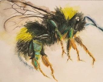 Flight of the bumblebee - print