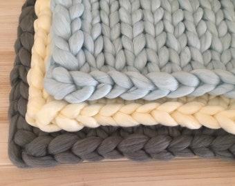 Bump blanket basket stuffer posing piece.  Now in 6 colors!