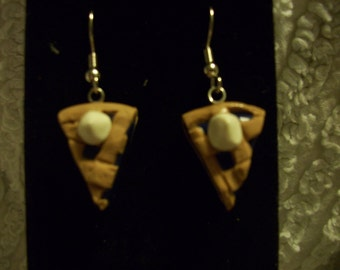 Blueberry Pie Earrings