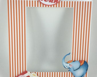 Carnival, Circus, Movie night Photo Mat for a 8x10 frame
