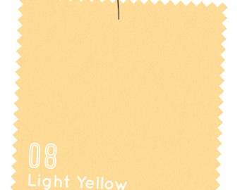Light Yellow Solid from American Made Brand Fabric - Solid Fabric - Solid Yellow - Made in the USA - Modern Solids Clothworks Solid