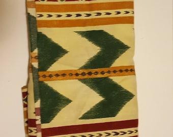 Beige Native American Print