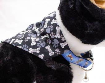 Puppy Bones Over-the-Collar Dog Scarf