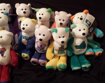 Lot of 11 Limited Treasures Coin Bears 1-11