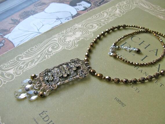 Vineyard necklace