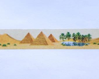 """Desert Scene Washi Tape 24"""" Sample - MASTÉ Japanese Washi Tape"""