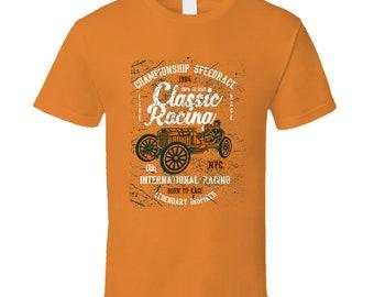 Championship Speedrace Classic Racing T Shirt