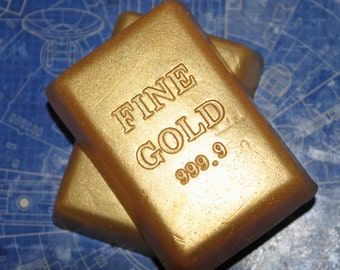 Fine Gold Bar Soap x 2!
