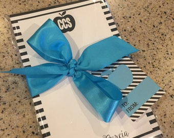 Personalized Notepad- Teacher Design