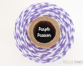 SALE - Purple Passion Bakers Twine by Timeless Twine - 1 Spool (160 Yards) Purple Bakers Twine
