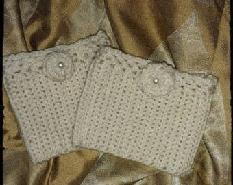 Boot Cuffs Crochet