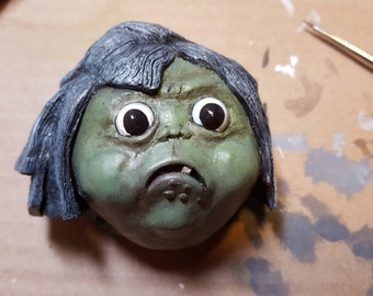 Labyrinth Goblin - fridge magnet or wall/desk decor!