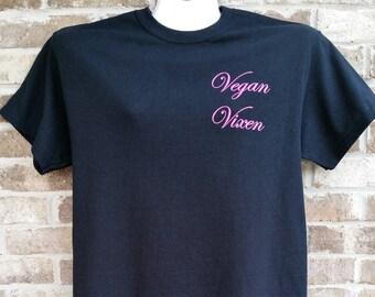 The Vegan Vixens - Vegan Vixen Tee Shirt