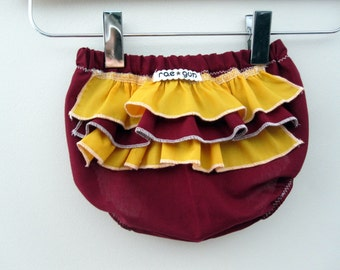 School Colors - Ruffle diaper covers - Baby -  Girl - Bloomers - Bottoms - Pick TWO colors