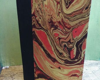 Notebook with colored Nepali Paper Cover, Blank Pages.
