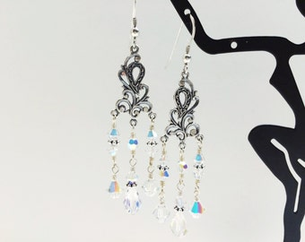 Crystal Chandelier Earrings - FREE SHIPPING