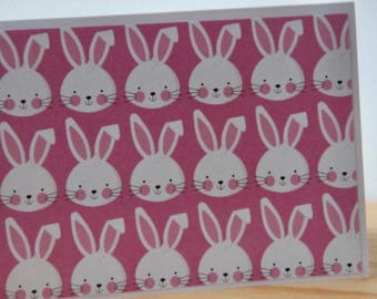 12 Easter Bunny Cards. Easter Note Cards. Blank Easter Cards. Party Invitations. Thank You Card. Spring Note Cards