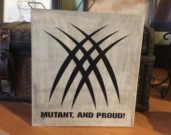X-Men inspired shelf sitter block