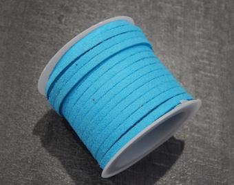 5 m cord 3x1.5mm azure blue