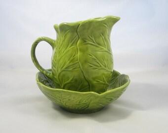 Cabbage Ceramic Creamer