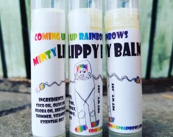White Minty Lippy