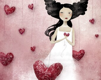 Some Hearts Wander 23/50 - Deluxe Edition Print - Whimsical Art