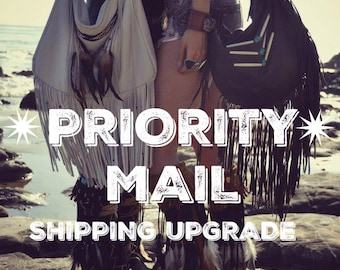 PRIORITY MAIL /// Shipping Upgrade